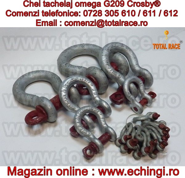 SHACKLES / GAMBETI OMEGA G209 CROSBY®