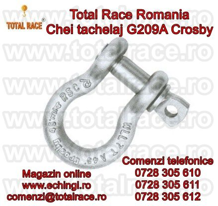 CHEIE TACHELAJ OMEGA CU BOLT FILETAT G209A CROSBY®