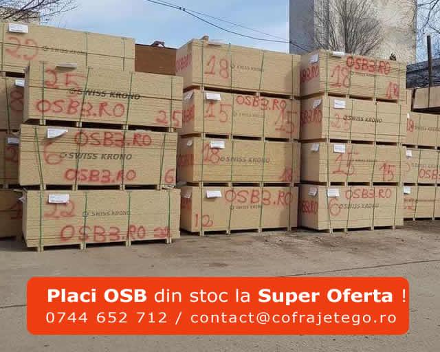 PLACI OSB DIN STOC. PRET IMPORTATOR DIRECT